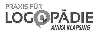 Praxis für Logopädie Anika Klapsing