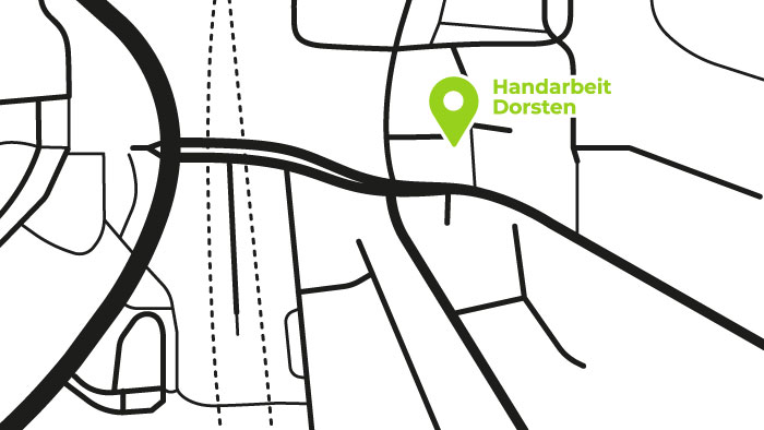 Handarbeit-Karte